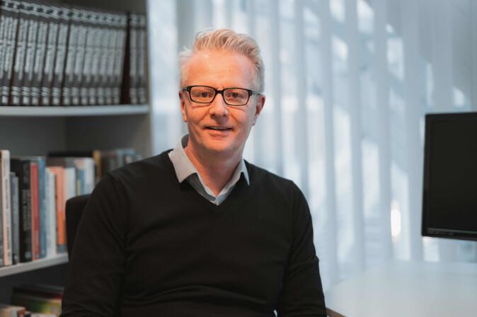 Asle Fagerstrøm, professor ved Institutt for teknologi ved Høyskolen Kristiania.
