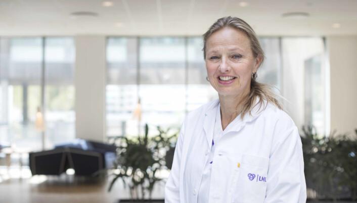 Forsker og lege Charlotte Rigul studerer senvirkninger av covid-19.