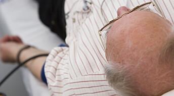 Høyt blodtrykk kan gjøre at hjernen fungerer dårligere
