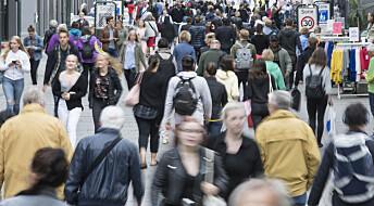 Det er snart flere eldre enn barn og unge i Norge