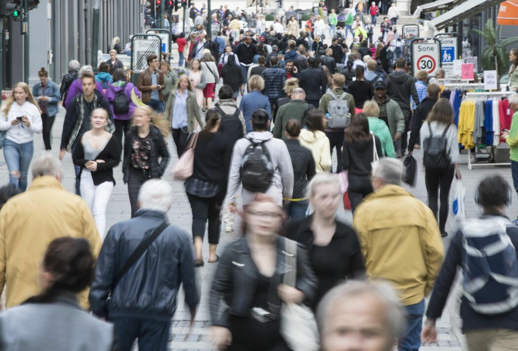Folketallet vil runde 6 millioner i 2050, ifølge SSB.