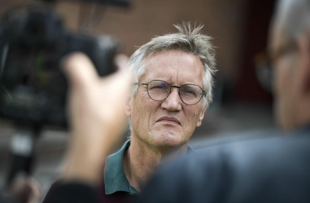 Statsepidemiolog Anders Tegnell i Sverige.
