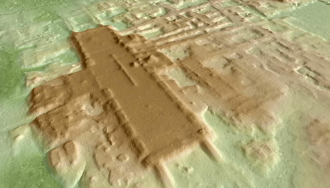 Enormt Maya-byggverk funnet i Mexico
