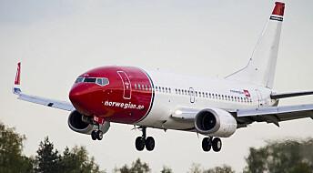 Passasjerene straffer Norwegian