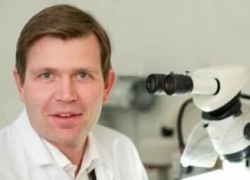 Lars Norlén er forsker ved Karolinska Institutet i Stockholm. (Foto: Ulf Sirborn)