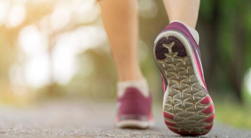 Hvor mange skritt bør vi gå hver dag?