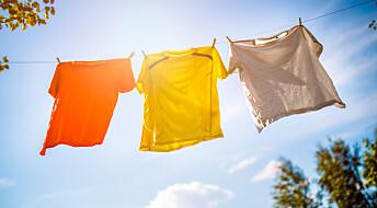 Derfor dufter klesvask så godt når den tørker utendørs