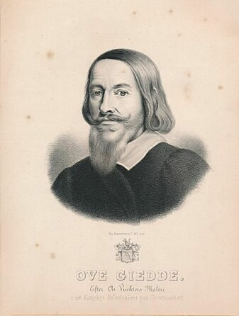 Ove Giedde har tradisjonelt fått æren for å opprette den dansk-norske handelsstasjonen i Trankebar. Men han fikk uvurderlig hjelp av nederlenderen Roland Crappé. Her er det Ove Giedde gjengitt i form av et litografi av C. Vuchter.