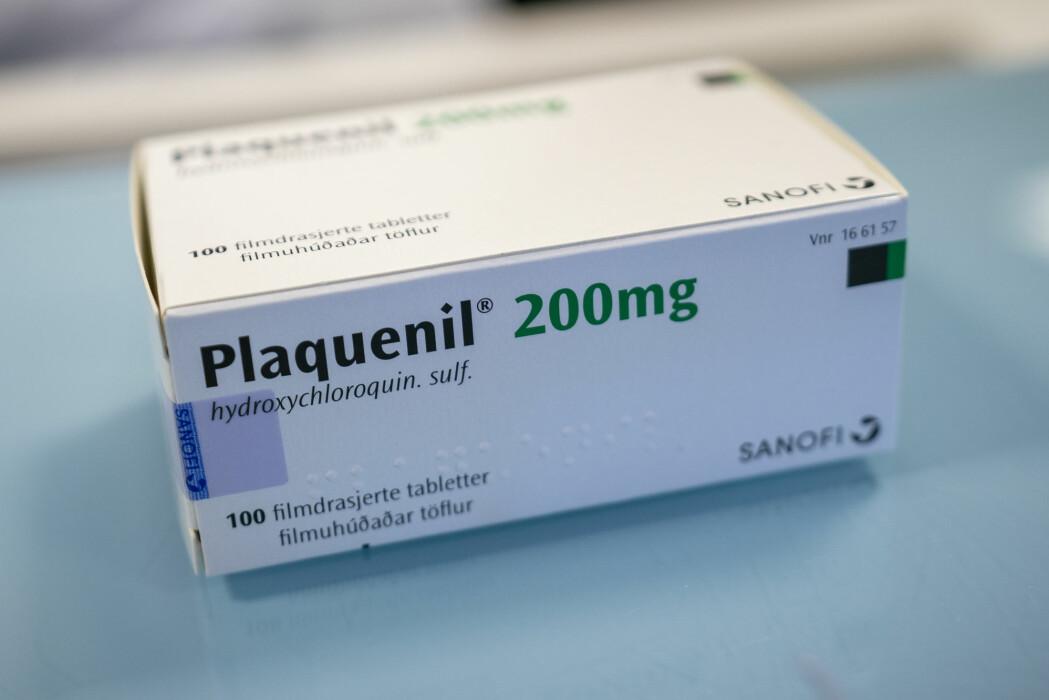 Plaquenil er en malariamedisin som inneholder hydroksyklorokin. Britiske forskere har kommet fram til hydroksyklorokin ikke har noen virkning på koronapasienter.