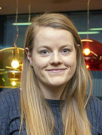 Doktorgradsstipendiat Terese Birkeland.