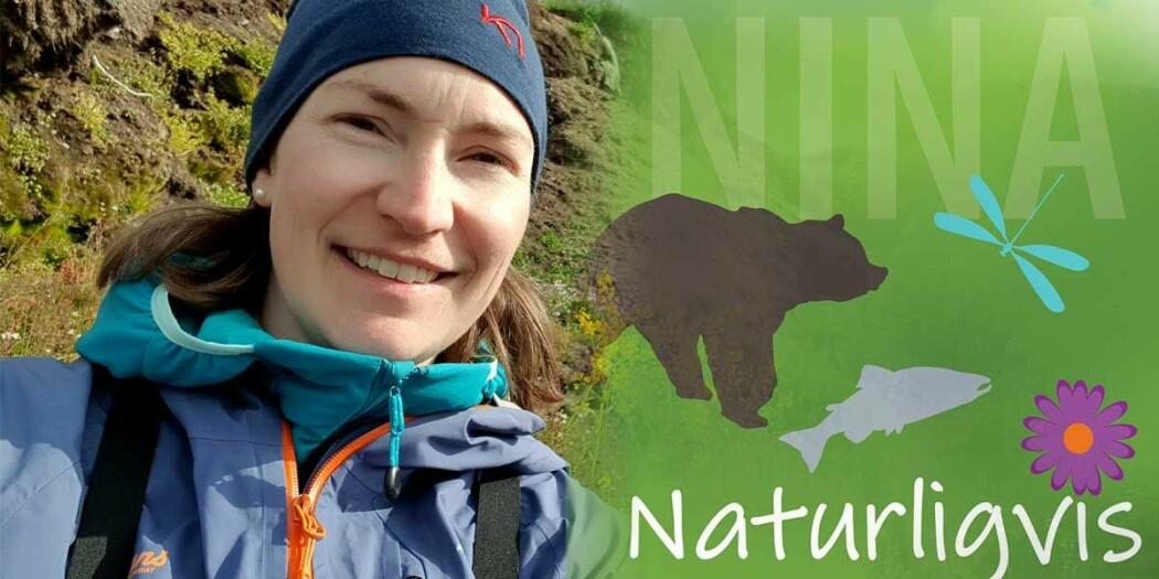NINA-forsker, botaniker og allergiker Kristine Bakke Westergaard .
