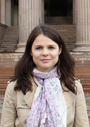 Vibeke Blaker Strand disputerer i desember ved Universitetet i Oslo. (Foto: Kjetil Frantzen)