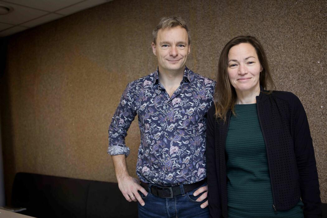 Professor Kristine Walhovd forsker på hjernens utvikling sammen med ektemann og samarbeidspartner Anders Fjell. – Vi er satt svært langt tilbake og fremtiden er usikker etter nedstengningen, forteller hun.