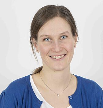 Demensforsker Kristi Henjum ved UiO har måttet utsette alt laboratoriearbeid.