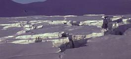En isbre våkner på Svalbard