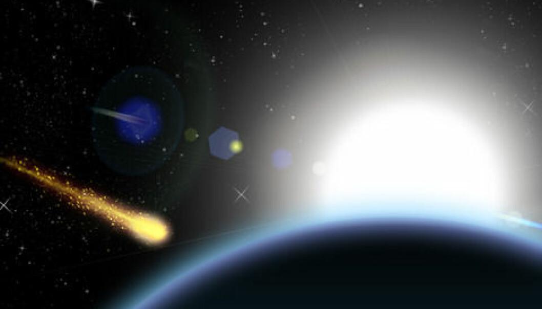 Vitenskapsfolk har i mange år diskutert om eksplosjonen ble skapt av en komet av is eller en asteroide av stein. Colourbox