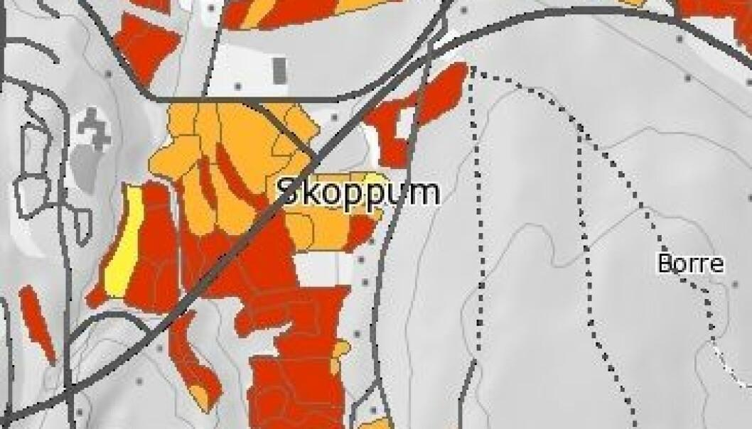 (Kart: Skog og landskap)