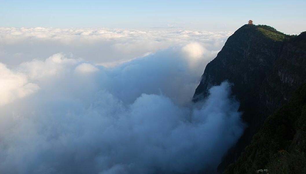 Emei-fjellene i Kina ble dannet av vulkanutbruddene som kan ha skapt nok en masseutryddelse på jorda.