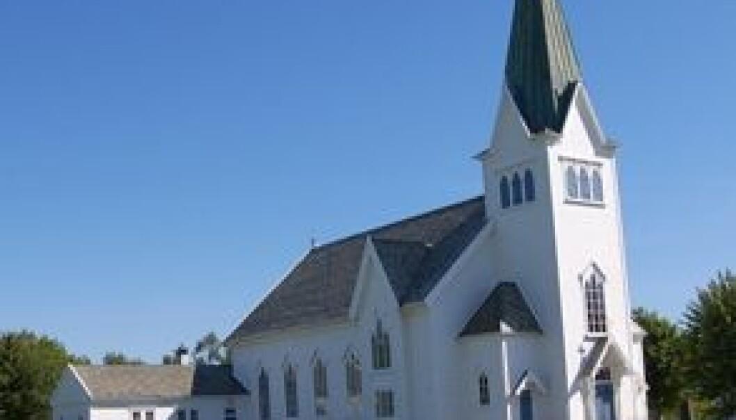 Skal du i kirken på søndag er sjansen stor for at du møter en mannlig prest. Flickr