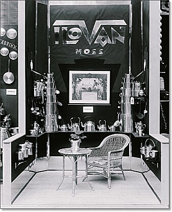 Kjellefabrikken Ilovan A/S i Moss lagde produkter som tålte både ild og vann. De hadde fått gullmedalje for sine aluminiumsprodukter under verdensutstillingen i Barcelona i 1929. Utmerkelsen ser du hengt opp på veggen midt i bildet.