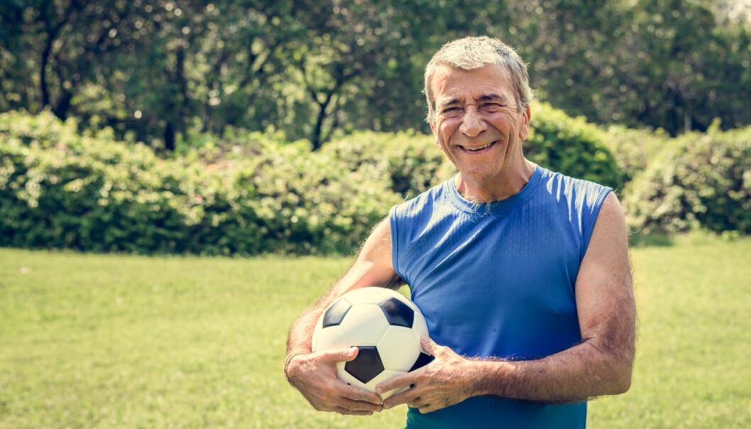 Fotballspillende menn har celler som er opptil elleve år yngre