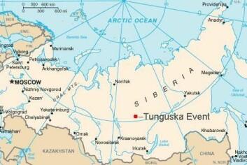 Tunguska-eksplosjonen fant sted langt ute i ødemarken. Heldigvis. For hadde den truffet en stor by, ville det ha medført en fryktelig katastrofe. (Grafikk: Bobby D. Bryant) (Foto: (Grafikk: Bobby D. Bryant))