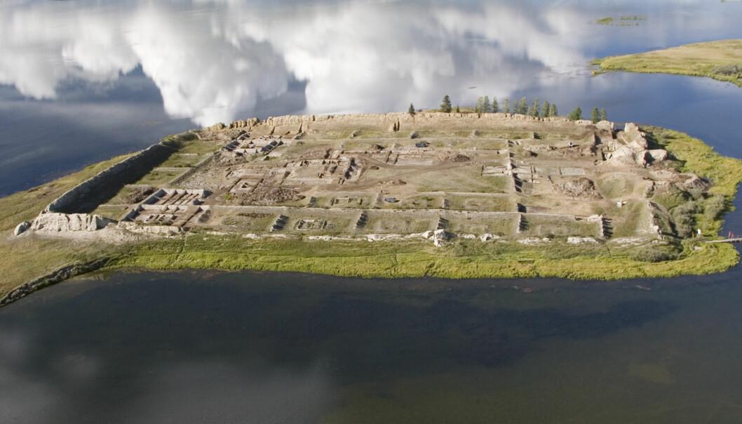 Dette mystiske byggverket i Sibir kan ha vært et kloster