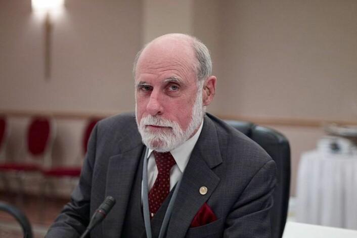 Vint Cerf var en sentral person i utviklingen av internett. - Jeg føler meg privilegert som har fått spilt en rolle i utviklingen. (Foto: Joi Ito/Wikipedia commons)