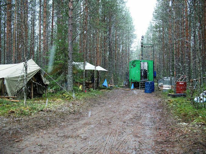 Bilde fra boreprogrammet i 2007. Her pågår arbeidet på Kolahalvøya.