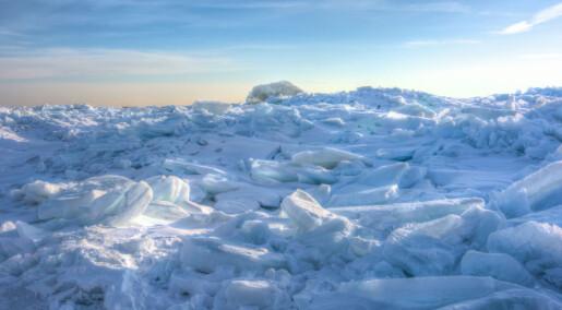 Oksygen ga første nedfrysing av kloden