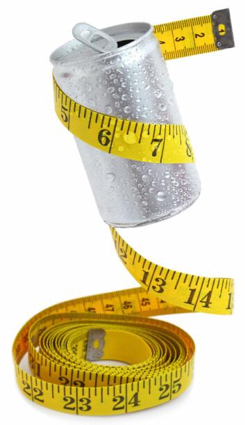 Slankere som drakk lettbrus, gikk ned 2 kg mer enn kontrollgruppen som drakk vann, viser den amerikanske studien. (Foto: Microstock)