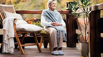 – Eldre bør vurdere å bytte ut tøflene