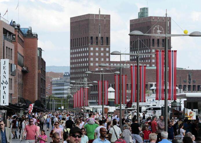 Tilliten folk har til hverandre i Norge er svært høy sammenlignet med andre land.