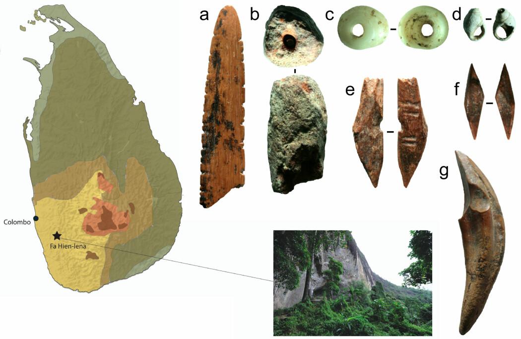 Forskere mener å ha funnet de tidligste sporene etter pil og bue utenfor Afrika