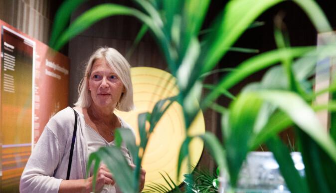 Brita Slettemark vil ikke skremme, men gi barn og ungdom håp med utstillingene på Klimahuset.