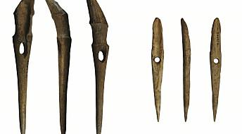 Steinalder-harpuner funnet på Sørlandet forteller om farefullt fiske