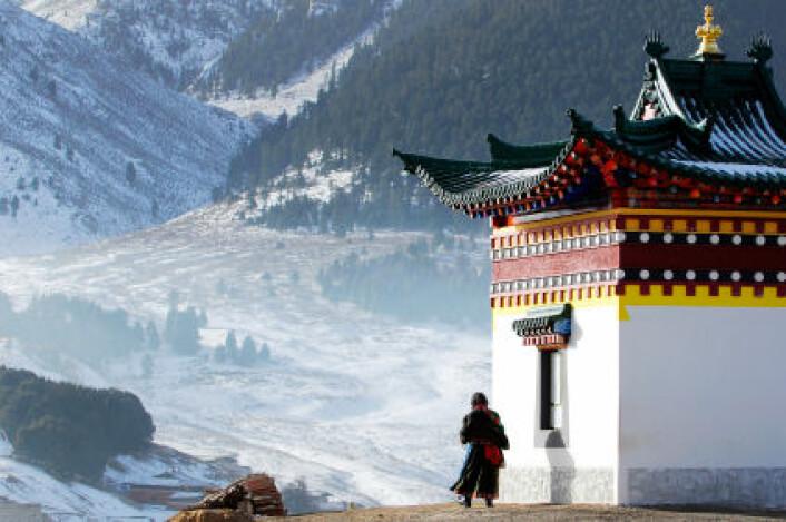 Klosterne som opprettholder tradisjonen med den såkalte gtummo-meditasjonen er sjeldne og finnes stort sett i avsidesliggende områder. (Foto: iStockPhoto.com)