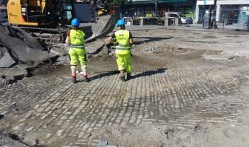 Arkeologien og det nye Torvet i Trondheim