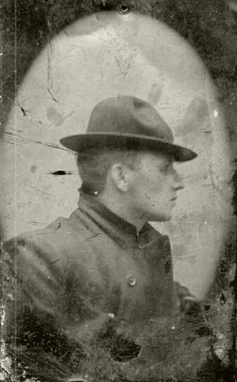 Gustav Vigeland i Firenze, 1896.