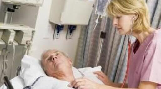 Flere pasienter overlever når sykepleierne har høy utdanning