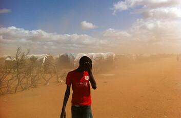 Mange østafrikanske land ble hardt rammet av tørke i 2011, og sulten rammet Somalia hardt. (Foto: Vikram Kolmannskog) (Foto: Vikram Kolmanskog)
