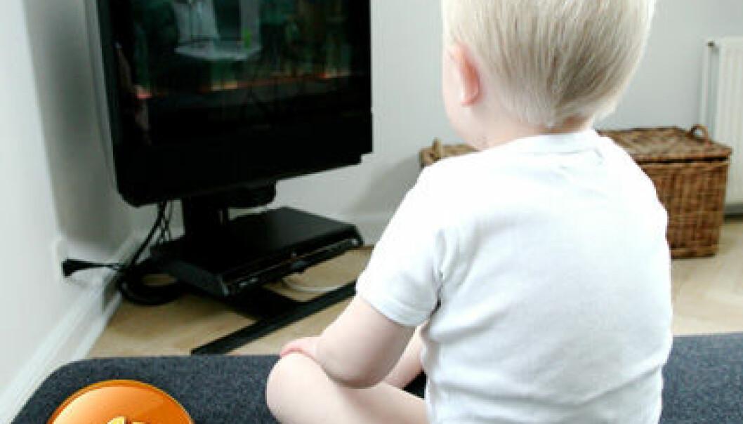 Lek er bedre enn TV