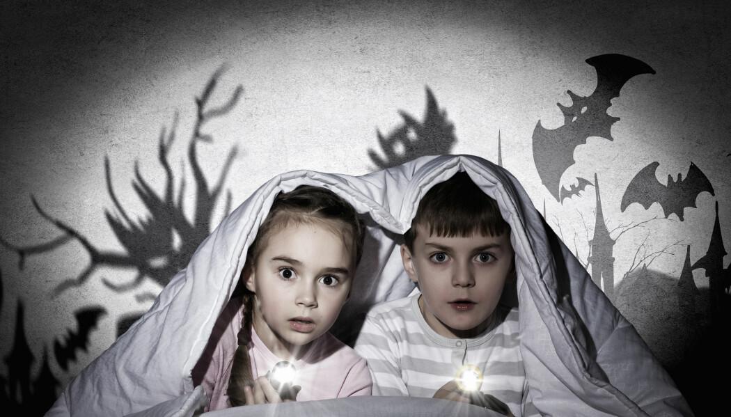 Barn trodde litt på spøkelser. Men det gjorde de voksne også.