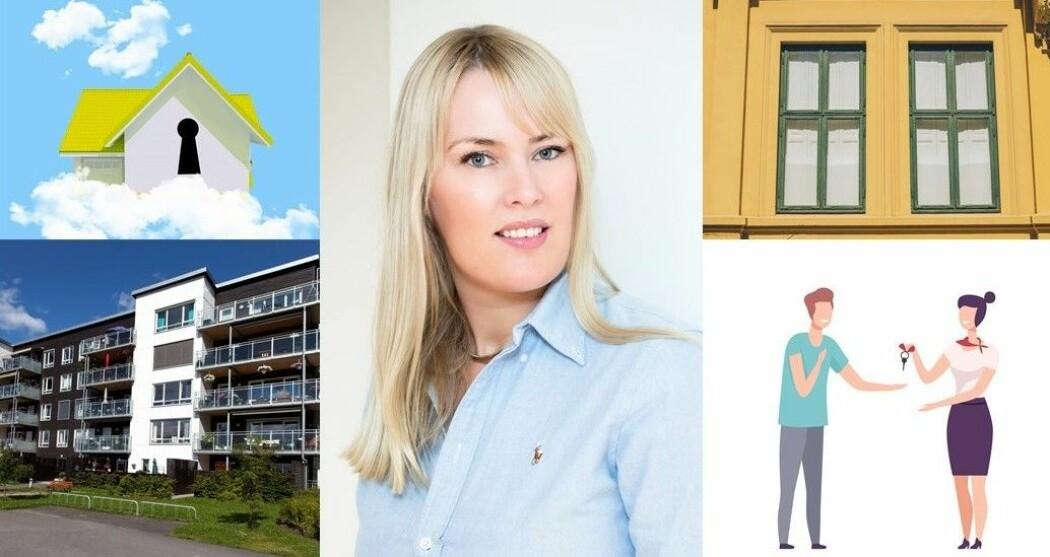 Marit O. Mamre forsker på boligmarkedet og hva som bestemmer hvor mye en leilighet eller hus koster.