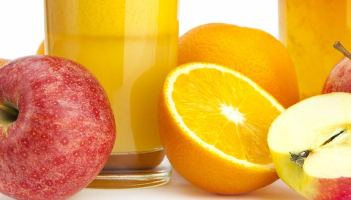 Er frukt sunnere enn juice?