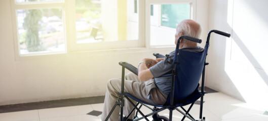 – Personer med demens har lav livskvalitet
