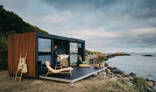 Miljøvennlige mobile hotellrom