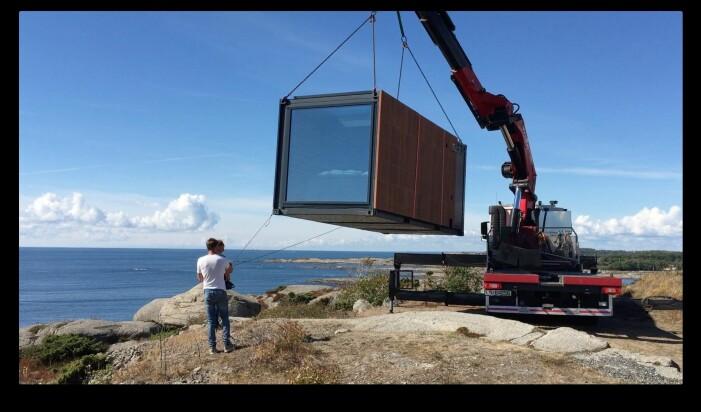 En av hovedgrunnene for utvikling og bygging av boenhetene i container-rammer, er at den kan transporteres på en miljøvennlig måte og være solid nok til å unngå skade under transport.