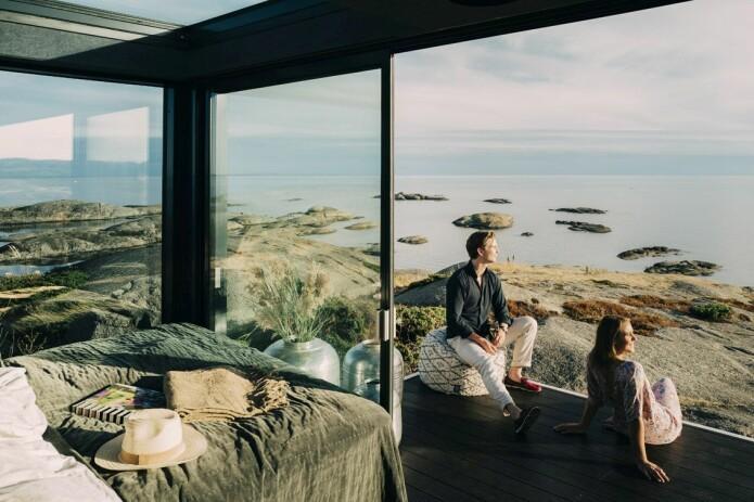 Mat og hvile der gjesten vil: Der ingen skulle tro at noen turist kunne bo – det er slike steder aktørene bak idéen om Mobile Moods tenker seg.