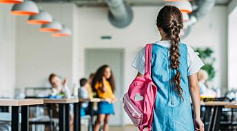 Hva gjør vi med barn som er redde for skolen?